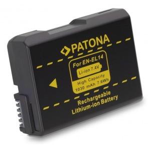 Patona accu Nikon EN-EL14 Compatibel