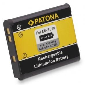 Patona accu voor Nikon, EN-EL19 Compatible
