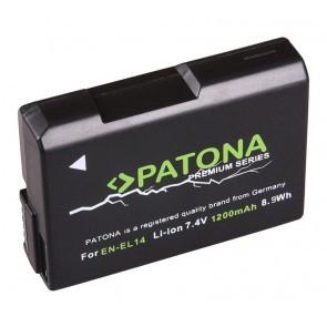 Patona Premium accu Nikon EN-EL14 Compatible