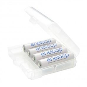 Sanyo Eneloop 750mah (800mah) AAA Batterijen 4 Stuks Incl Opbergbox
