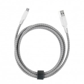EnerGea Nylotough Charge & Sync kabel USB -> Micro USB, 1.5 mtr - Wit