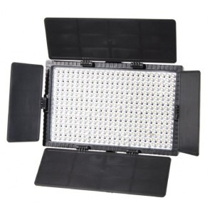 Falcon Eyes LED lamp set, dimbaar DV 384CT K2 incl accu