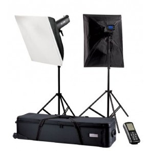 Falcon Eyes studio flitsset TFK-2400L met LCD scherm