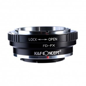 Canon FD Adapter voor Fuji X Mount Camera (K&F)