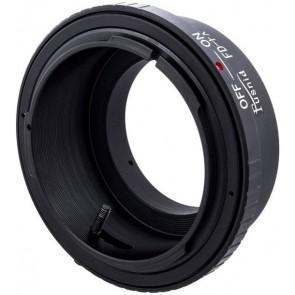 Canon FD adapter voor Fuji X mount camera