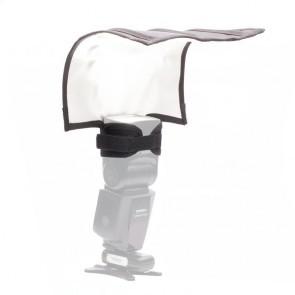 Vouwbare flits bounce reflector - large,  Flashbender alternatief