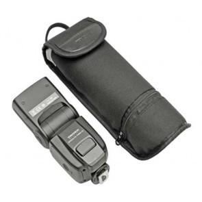 Opberghoes voor flitser incl. omnibounce en batterijen - XL versie