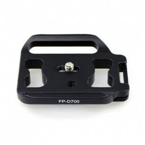 Fittest Photo statief snelkoppelingsplaat voor de Nikon D700 grip