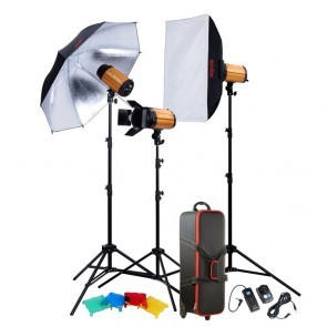 Godox Studio Smart Kit 250 Sdi D Met 3x 300 W S Lamp