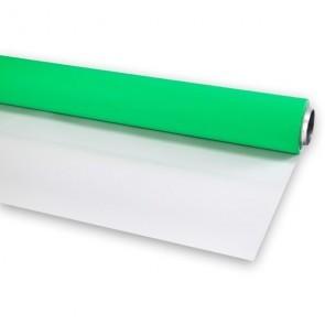 Vinyl Achtergrond Rol Groen Wit Combinatie 2.90 Meter Breed