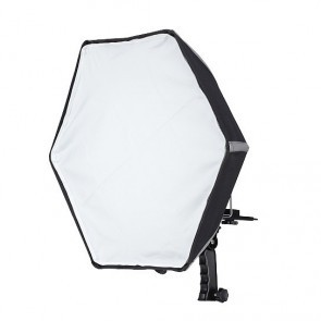 Hexagon inklapbare softbox - 50cm