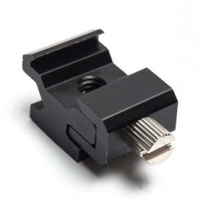 Cold / hot shoe adapter voor flitser