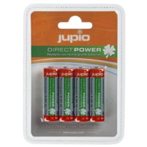 Jupio Direct Power Batterijen AA 4x 2100mah Oplaadbare Batterijen