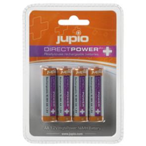Jupio Direct Power Plus Batterijen AA 4x 2500mah Oplaadbare Batterijen