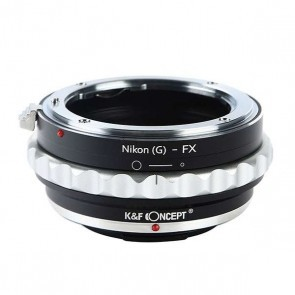 K&F Nikon G adapter voor Fuji X mount camera