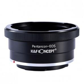 Pentacon 6 Kiev 60 adapter voor Canon EOS (K&F)