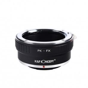 Pentax PK adapter voor Fuji X mount camera (K&F)