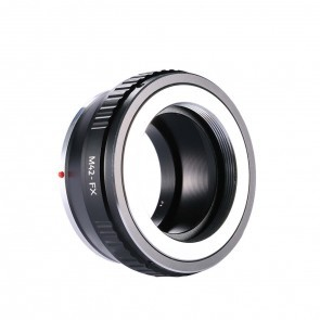 M42 adapter voor Fuji X mount camera (K&F)