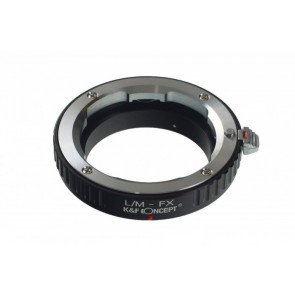 Leica M adapter voor Fuji X mount camera - K&F