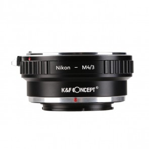 K&F Nikon F adapter voor Micro 4/3 camera's