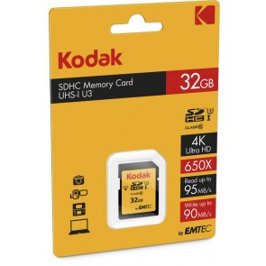 Kodak SDHC 32GB Class 10 U3