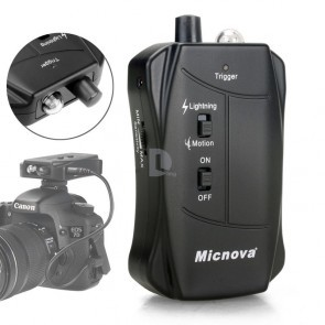 Bliksem en wild trigger set voor Nikon