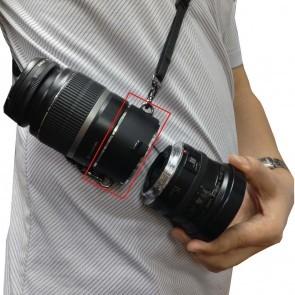 Commlite lens flipper voor Canon lenzen