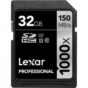 Lexar Professional SDHC Pro 32GB 1000x Class 10 UHS II