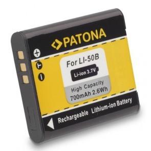 Patona Accu Olympus LI-50B Compatible