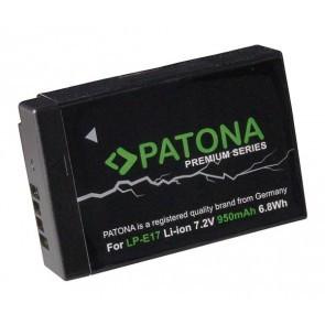 Patona premium accu Canon LP-E17 compatibel- ONGECODEERD
