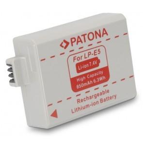 Patona LP-E5 compatible accu met afdekkapje