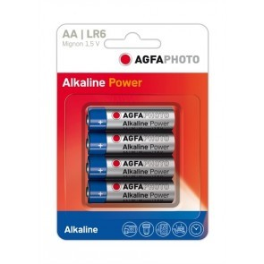 Agfa Aa Batterij 4 Stuks