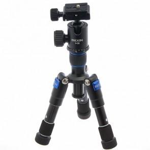 Bexin M1225S mini statief met V-30 Arca Swiss compatibel balhoofd