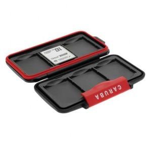 Universele cardsafe / transportbox MCC-3 - 6x CF