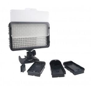Mcoplus 260 LED Lamp geschikt voor Canon / Nikon  en Sony accu's