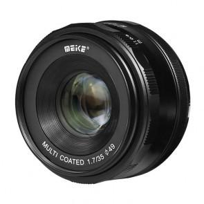 Meike MK 35mm F1.7 MICRO Fourthirds objectief