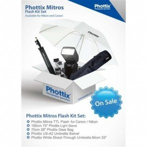 Phottix Mitros+ (Plus) voor Nikon XL set