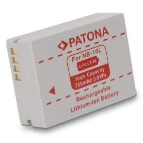 Patona accu Canon NB-10L compatible