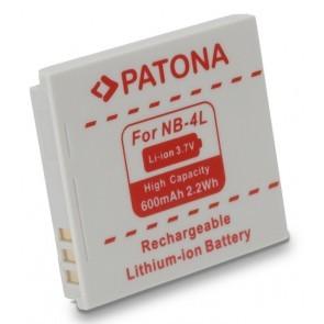 Patona accu Canon NB-4L compatible