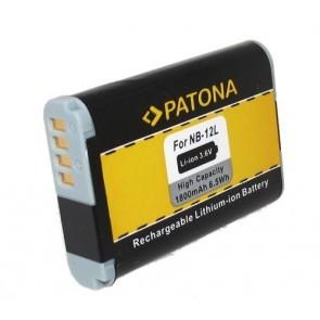 Patona accu Canon NB-12L compatible