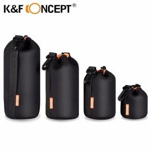 K&F Lenspouch set - 4 stuks