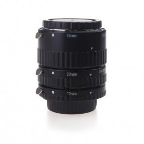 Metalen tussenringen set voor Nikon F