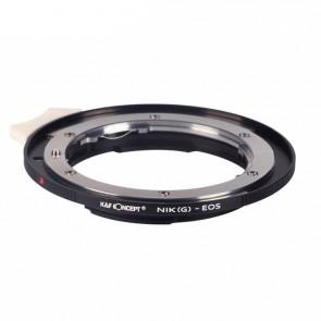 K&F Nikon G adapter voor Canon EOS