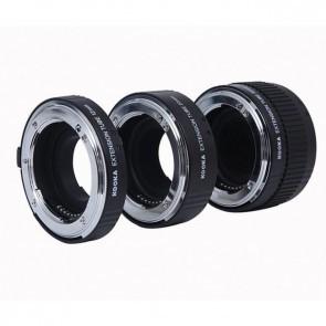 Tussenringen set voor Nikon met aluminium vatting