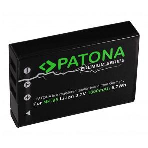 Patona premium accu Fuji NP-95 compatibel