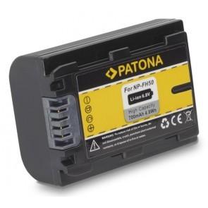 Patona Accu Sony NP-FH50 Compatible