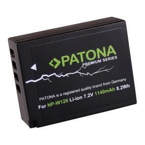 Patona Premium Fuji NP-W126 compatible accu