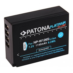 Patona Platinum Fuji NP-W126S compatible accu