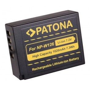 Patona Fuji NP-W126 compatible Accu