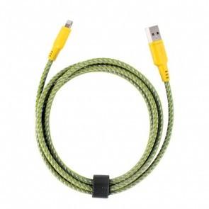 EnerGea Nylotough lightning USB kabel 1.5 meter - Geel